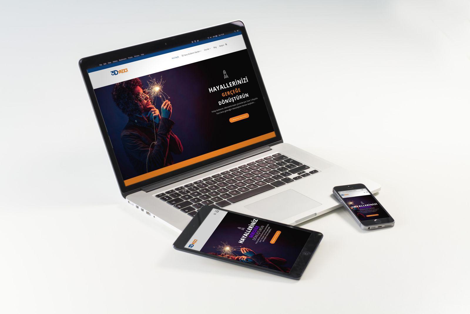 2S Bilgisayar'ın 3D Yazıcı Web Sitesi Yayında
